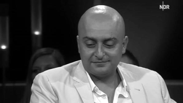 Amir Kassaei in a German TV talkshow