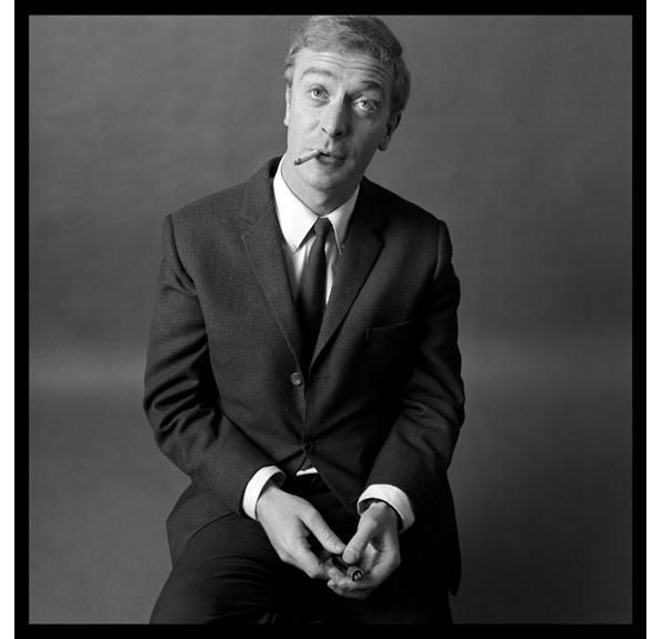Michael Cane, 1962. Photo: Brain Duffy, The Man who shot the sixties