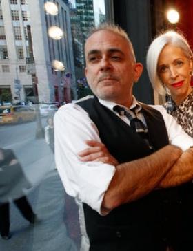 David Hoey and Linda Fargo, Schaufenster Designer bei Bergdorf Goodman Foto- Ruth Fremson:The New York Times