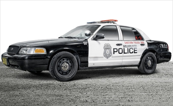 Milwaukee Polizei Auto