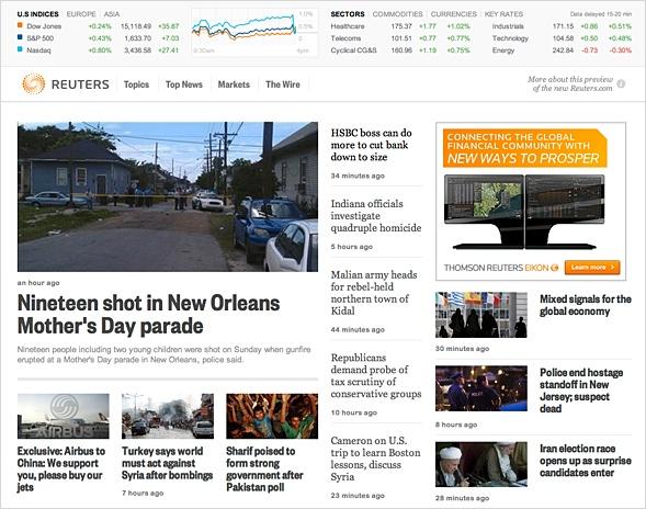 Reuters Vorschau