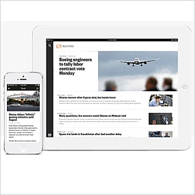Reuters mobile Anwendung