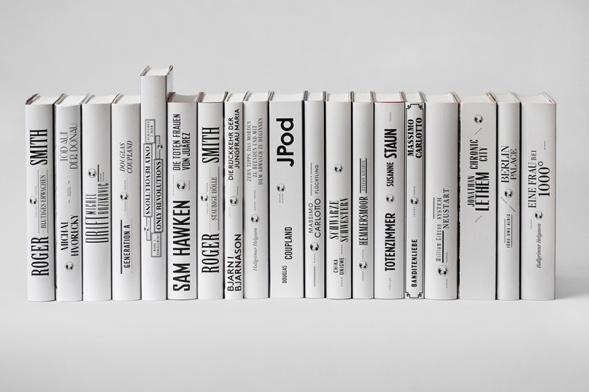 Bücherreihe regal  Bücher, die wir gemacht haben, in einer schrumpfenden Umgebung ...