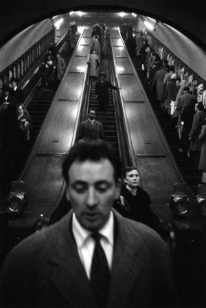 © Sergio Larrain London Baker Street underground station 1958-1959