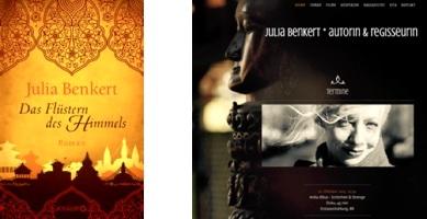 Julia Benkert Buch und Webseite