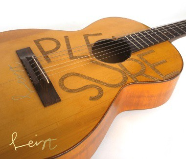 One of two (gone) Framus Signatur guitars