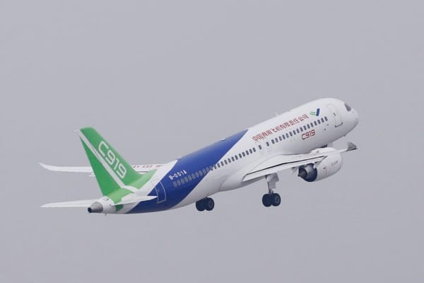 C919 jet set for maiden flight, in test of China's aviation ambitions