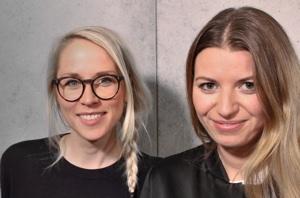 Edition F Gründerinnen Susann Hoffmann u. Nora-Vanessa Wohlert.