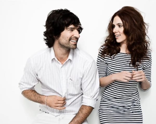 Scarlett Johansson and Pete Yorn with 'Clean'.