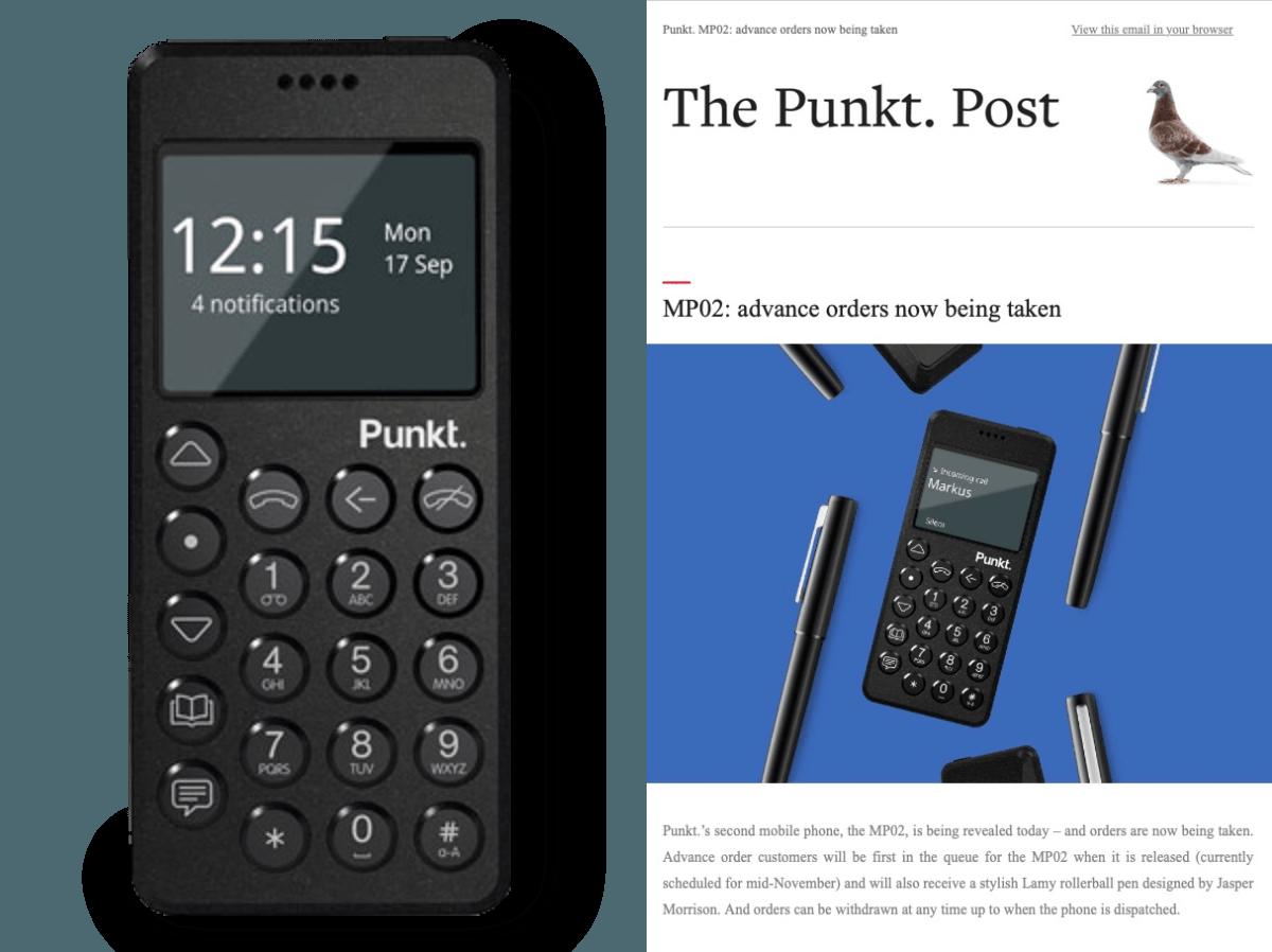 Punkt Tronics stellt sein nächstes in der Schweiz gefertigtes Handy vor.