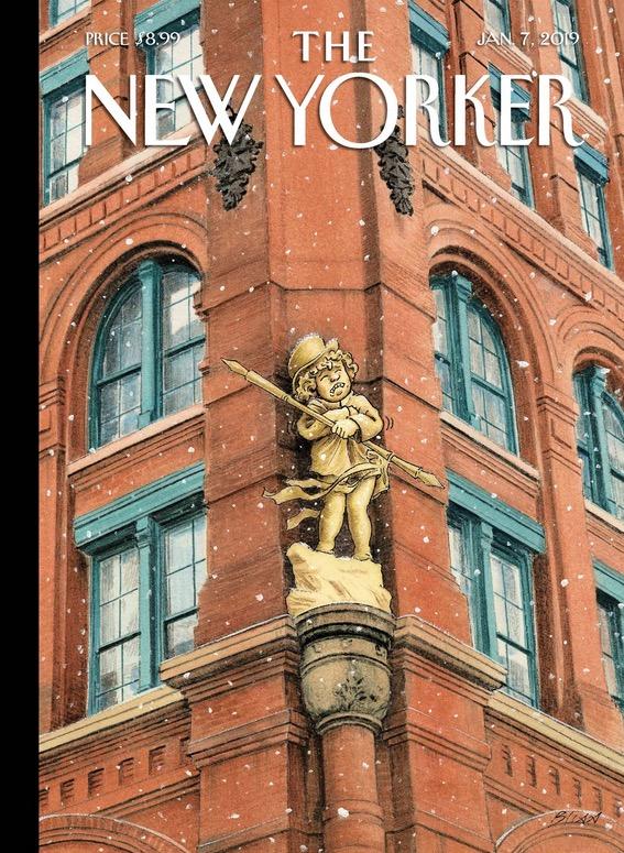 Bliss nimmt sich das herrliche Puck Gebäude vor , eine überlebende Struktur im einstmaligen Verlagsviertel.