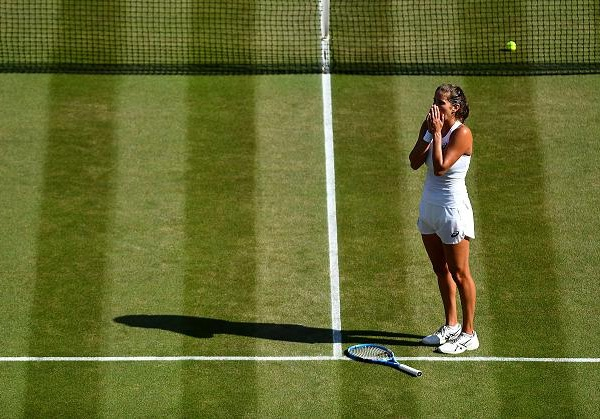 Two years after their last meeting in the Wimbledon final, Serena Williams and Angelique Kerber will clash again on the same stage. (Getty Images)