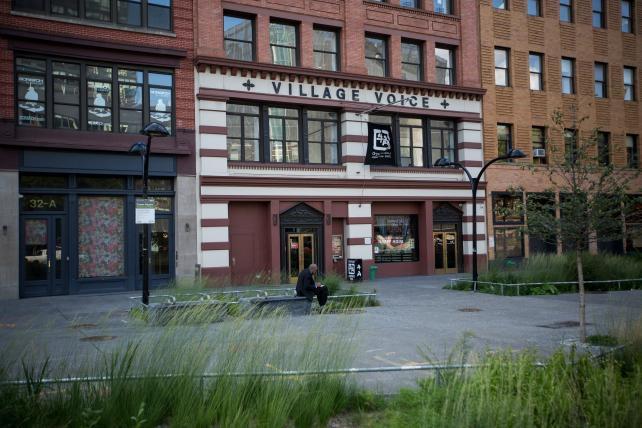 The Village Voice headquarters in Manhattan. Credit: Bloomberg via AdAge
