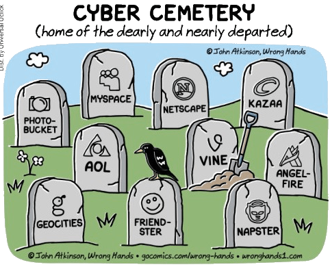 Cyber Cemetary ©John Atkinson